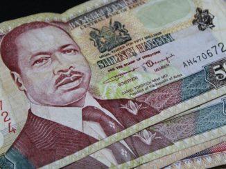 peníze keňa