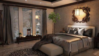styl ložnice