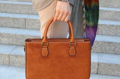 Ako sa správne starať o koženú kabelku